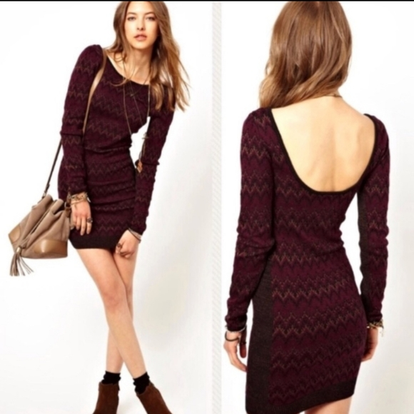 Free People Dresses & Skirts - Free people cozy cabin long  sweater dress sz S